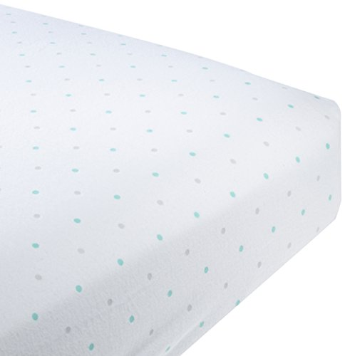 SwaddleDesigns Premium Flannel SeaCrystal Sterling