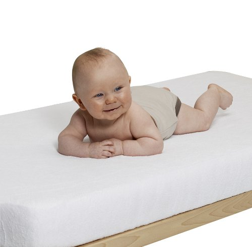 Playshoes 770320-1 Jersey Spanbettlaken Kinderbett Wasserdicht und Atmungsaktiv wei/ß 60 x 120 cm OEKO-TEX Standard 100