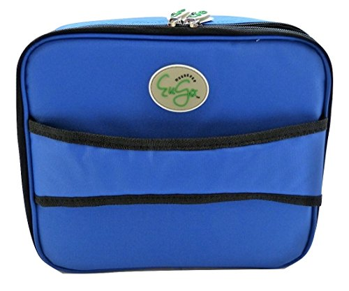 Diabetes Supplies Travel Bag and Organizer- Sport Blue by Wherever EuGo