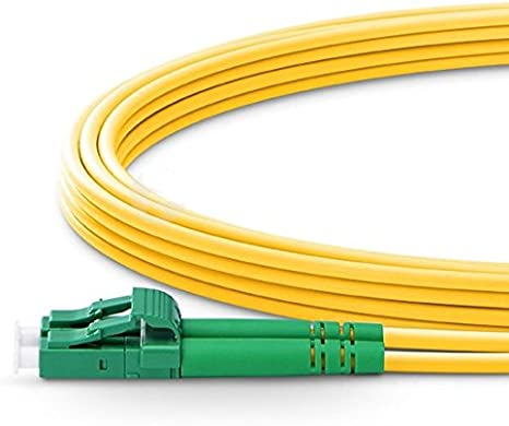 Length Options Fiber Optic Cable LC//APC to LC//APC Singlemode Duplex 2.0mm//3.0mm Outer Diameter OS2 9//125mm Fiber Optic Patch Cord 150m, 3.0mm 0.5M-200M