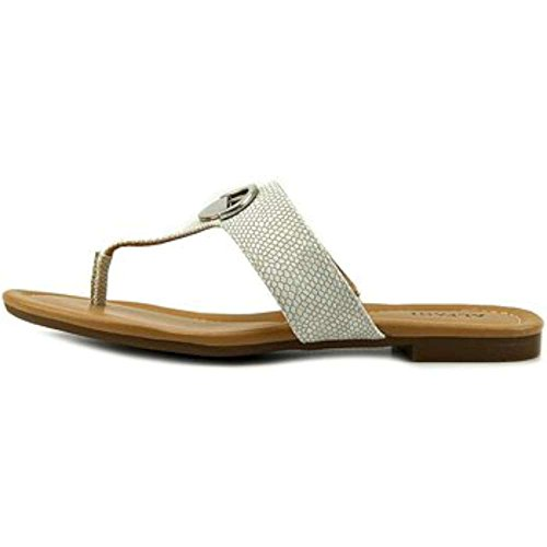 Alfani Womens holliss Open Toe Casual Flip Flop Sandals Grey Size 8.0