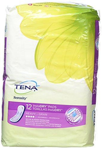 Tena Serenity InstaDry Pads Heavy  12 Count ()