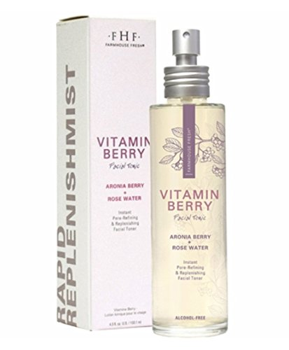 Farm House Fresh Vitamin Berry Facial Tonic 3.5 fl (Vitamin Tonic)