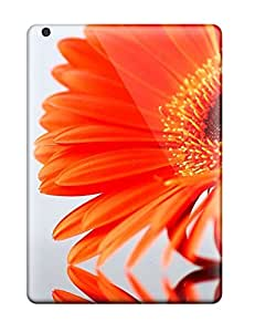 For Ipad Air Protector Case Orange Flowers Phone Cover