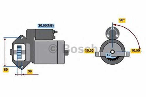 Bosch 986021810 Starter Robert Bosch GmbH 0986021810