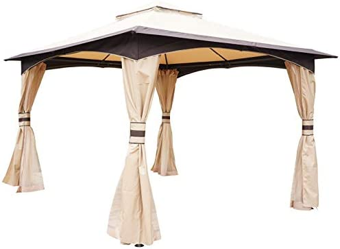 Outsunny 10' x 12' Soft Top Outdoor Canopy Patio Gazebo