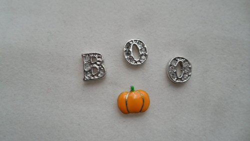 Halloween Boo Pumpkin Floating