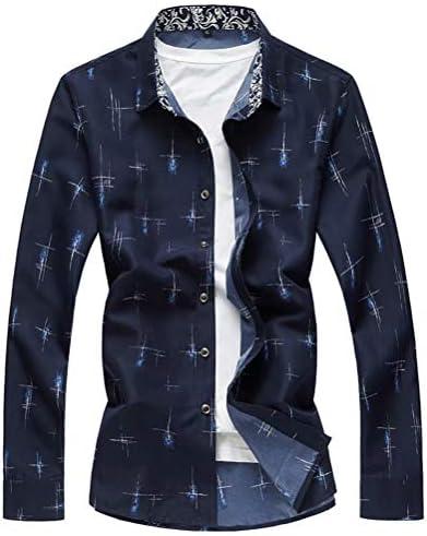 カジュアルシャツ メンズ シャツ 長袖シャツ 大きいサイズ ストライブ M-7XL オールシーズン リゾート 細身 お兄系 男性用 個性 重ね着 qt4025-6302