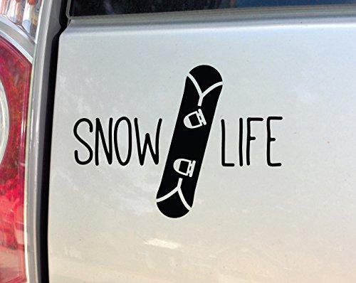 Forum Snowboarding - Snow Life Snowboarding Snowboard Vinyl Decal Laptop Car Truck Bumper Window Sticker, 5