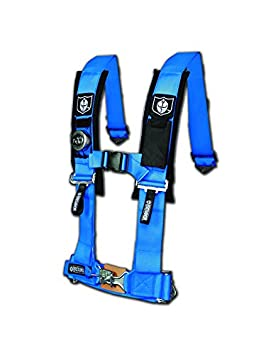 Pro Armor A114220VB Voodoo Blue 4-Point Harness 2 Straps