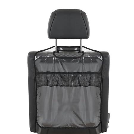asientos traseros con compartimentos y soportes para botellas gris Hauck Cover Me Deluxe Organizador y protector para asientos de coches