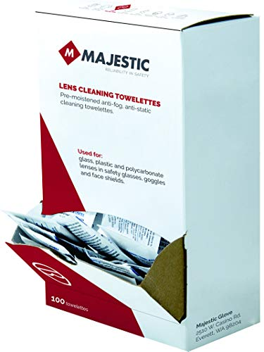 Majestic Lens - Majestic Glove 85-9000 Lens Cleaning Towelettes, Colorless