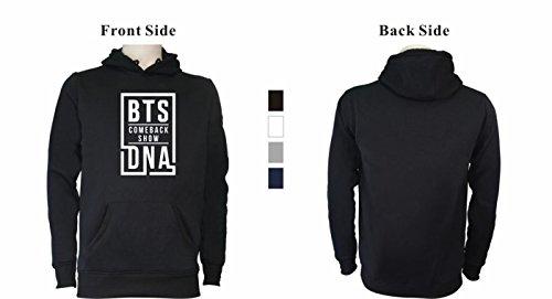 BTS Felpe cappuccio Bangtan Mostro Kook Jin J V SERAPHY con BTS con Bianca Pile Boys Unisex Hope Rap DNA Felpa Jung Jimin cappuccio invernale Suga qwxXtYA