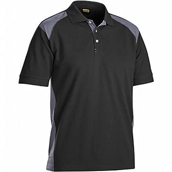 Blakläder Polo-Shirt, 1 Stück, Größe XXL, schwarz / grau, 332410509994XXL