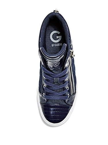 G By Guess Mujer orily acolchada high-top Zapatillas Dark Blue