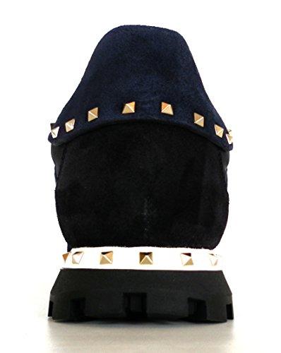 VALENTINO GARAVANI Sneakers Scarpe Uomo Modello LY0S0952 W22 Camouflage Blu