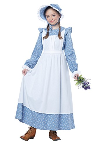 Un Costume For Girls (California Costumes Pioneer Girl Child Costume, Large)