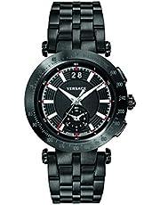ساعة رسمية للرجال من فيرساتشي، انالوج، ستانلس ستيل - VAH040016