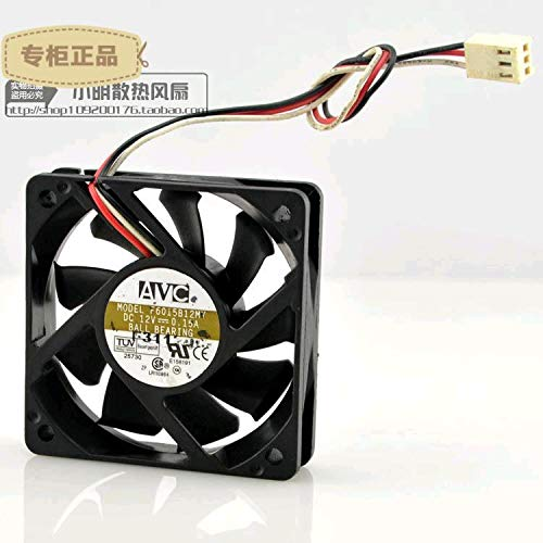 REFIT 6015 6 cm cm 12 v 0.15 A Dual Ball Mute F6015B12MY Chassis Cooling Fans