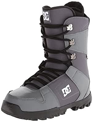 DC Men's Phase 15 Snowboard Boot, Grey, 7 D US