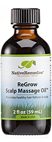 Native Remedies ReGrow Scalp Massage Oil for Hair and Scalp (60ml)