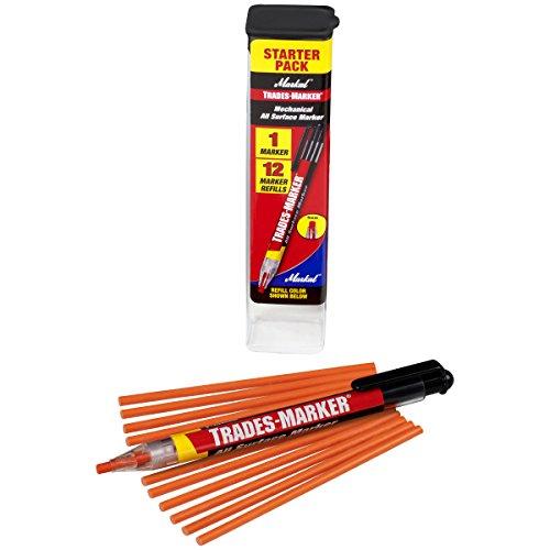 markal-96137-trades-marker-1-holder-12-refills-orange