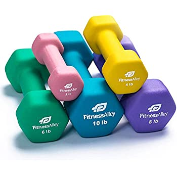 Amazon com : Tone Fitness 20-Pound Hourglass Dumbbell Set