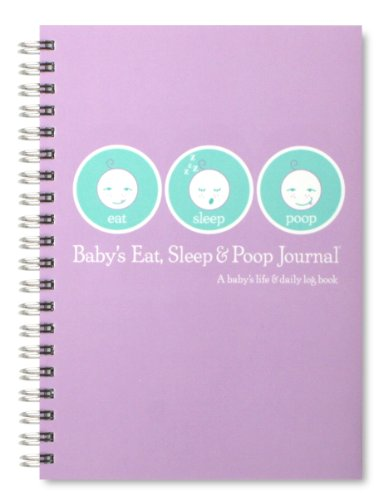 d Poop Journal, Log Book Lavender (Baby Sleep Log)