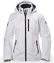 Helly Hansen Women's Crew Hooded Midlayer Fleece Lined Waterproof Windproof Breathable Rain Coat Ja