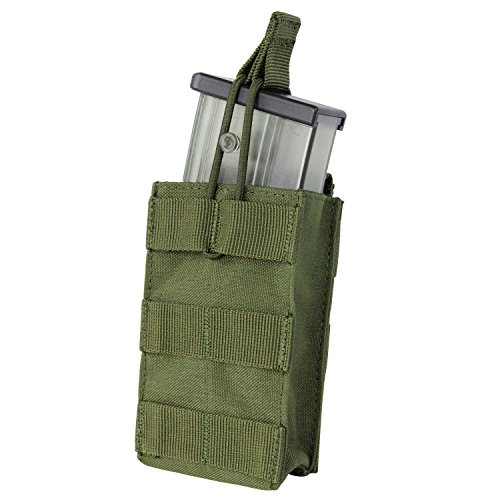 G36 Mag Pouch - Condor Single Open Top G36 Rifle Magazine Mag Pouch 191129 (OD Green)