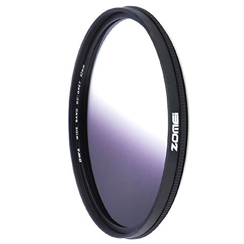 ZOMEI 82mm Ultra Thin Gray GC Graduated Gray Gradual Neutral Density Lens Filter by ZoMei