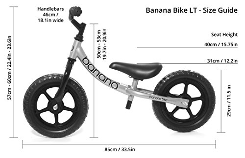 Image of the Banana Bike LT - Lightweight Balance Bike Kids - 2, 3 & 4 Year Olds (Pink)