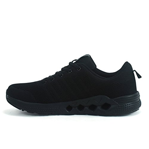 Sneakers Mens Mesh Athletic Lightweight Breathable Casual Running Black Sports For Shoes Riding 6wfaq0