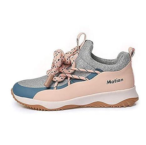 Chaussures pour Femmes Non-Slip Léger Sneaker Mode Confort Mesh Sneakers Respirant Respirant Résistants Chaussures Camping Gym Park (Couleur : Une, Taille : 38) MhC
