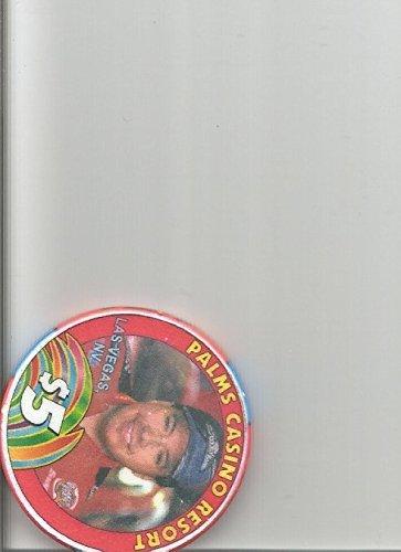 ($5 palms cruz pedregon 1992 funny car champion limited las vegas casino chip rare)