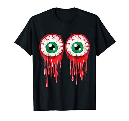 Bloody Boob Eyeballs Halloween Party Shirt Costume T Shirt