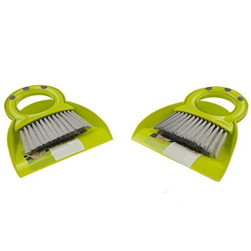 Cab Set (Pekky Mini Dustpan and Broom Set, 2 Packs)