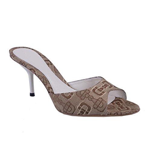 Gucci-Womens-Brown-Peep-Open-Toe-High-Heel-Mule-Shoes