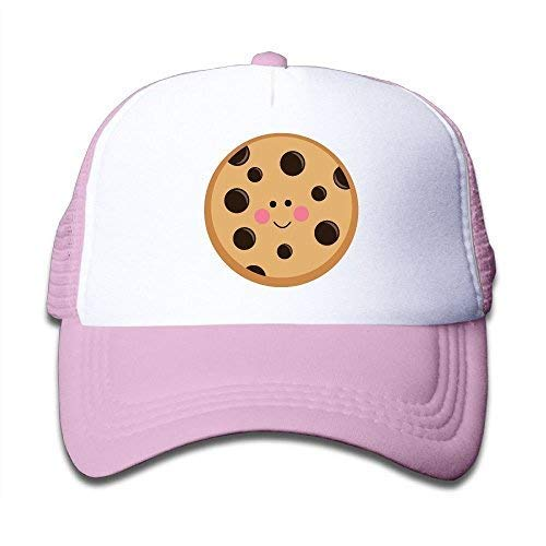 Pink Clipart - Soskeila Cookie Clipart On Boys and Girls Trucker Hat, Youth Toddler Mesh Hats Baseball Cap Pink