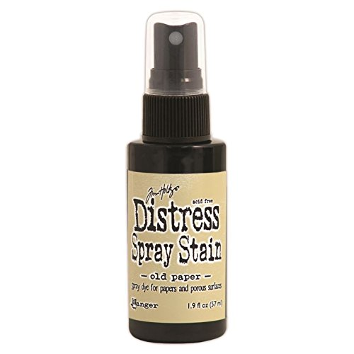 Ranger Tim Holtz Distress Spray Stains Bottles, 1.9-Ounce, Old Paper