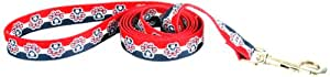 Yellow Dog Design Lead, 3/8-Inch by 60-Inch, Patriotic Paws
