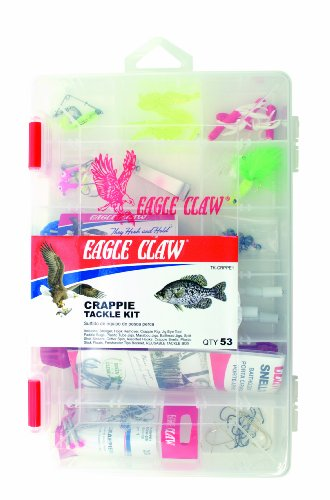 - Eagle Claw Crappie Tackle Kit
