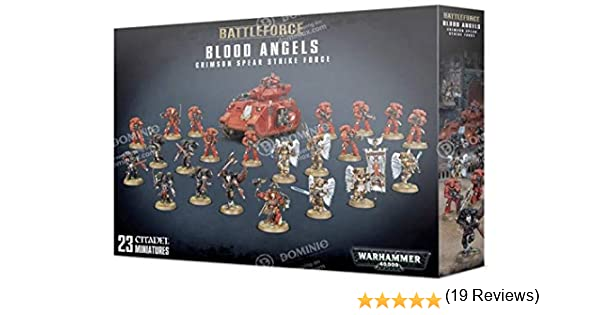 Games Workshop Blood Angels - Crimson Spear Strike Force: Amazon.es: Juguetes y juegos