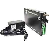 FRM220-SERIAL-SC20A - RS-232, RS-485, RS-422 over single strand fiber BiDi media converter, 20Km, A type, Tx:1310/Rx:1550nm
