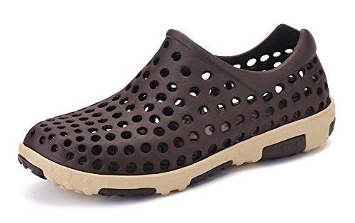 Men's Slip On Beach Aqua Water Sandal Garden Clog Shoes