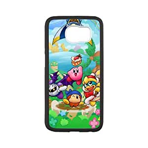 Kirby Samsung Galaxy S6 Cell Phone Case Black MSY213628AEW