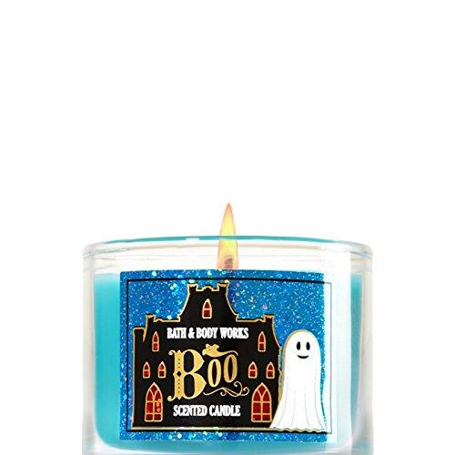 Bath & Body Works Mini Candle Halloween BOO -