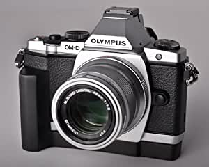 Grip Base for Olympus OM-D E-M5 - Made in USA by J.B. Camera Designs