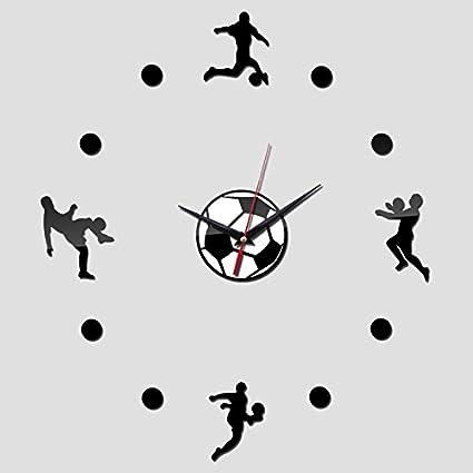 NabothT Relojes de Pared de diseño Modernos Relojes de Pared Reloj de Pared Reloj Digital Grande