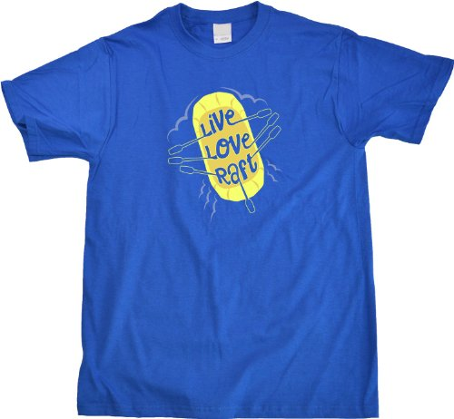 Live, Love, Raft White Water Rafting River Lover Paddle Unisex T-shirt